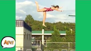 Gravity Defeating PEOPLE | Funniest Falls & Fails | AFV 2019