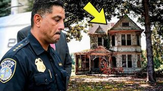 Cops Enter An Abandoned House Only To Find A Hidden Secret