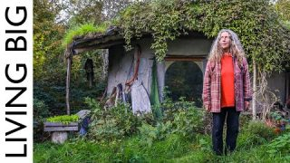 Woman Builds £1000 Tiny Earthen Home To Live Close To Nature In Welsh Woods