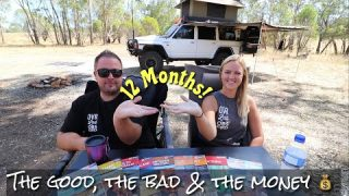 12 months travelling around Australia full time camping