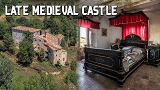 Abandoned 14th Century Castle in Spain – Everything Left Behind