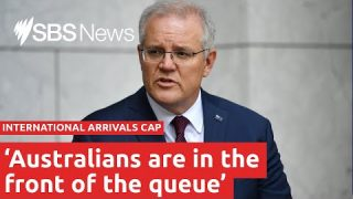 Australian international arrivals travel cap increased for citizens and residents I SBS News