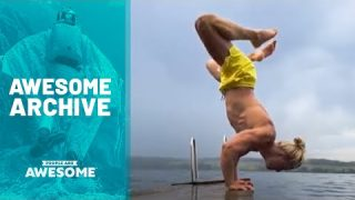 Beach Parkour, Snowboard Halfpipes & More | Awesome Archive