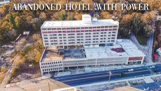 Exploring an Abandoned Hotel With Power Still on…(security was inside with us)