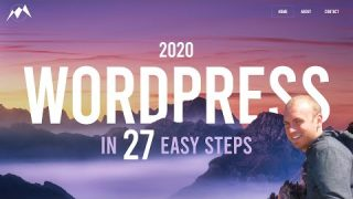 How To Make a WordPress Website – 2020
