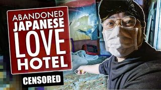 Inside an ABANDONED Japanese Love Hotel (4K)
