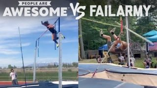 Pole Vaulting & More Wins & Wipeouts | People Are Awesome Vs. FailArmy