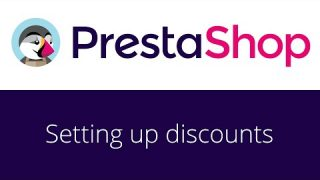 PrestaShop beginner tutorial 15 – Setting up discounts