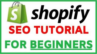 Shopify SEO Optimization Tutorial For Beginners   Step By Step FREE TRAFFIC