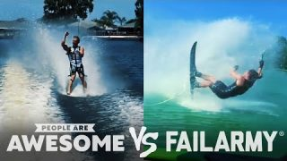 Skiing, Wakeboarding, Freerunning Wins & Fails | People Are Awesome Vs. FailArmy