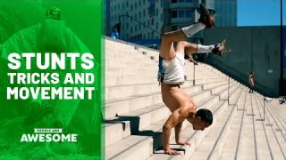 Stunts in Parkour, Ramp Flips, Street Skateboarding & More | People Are Awesome